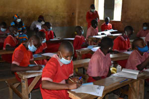 The Water Project: Mukambi Baptist Primary School -  Note Taking