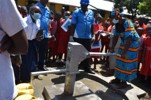The Water Project: Mukambi Baptist Primary School -  Onsite Training