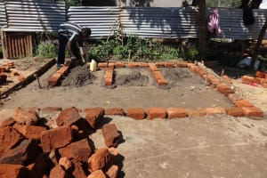 The Water Project: Mukambi Baptist Primary School -  Preparing Area For Latrines