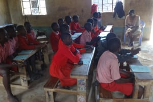 The Water Project: Mukambi Baptist Primary School -  Students At The Training