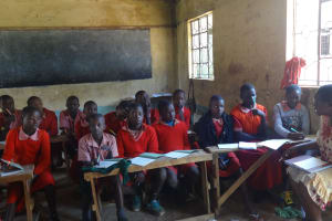 The Water Project: Mukambi Baptist Primary School -  Students Listen During The Training