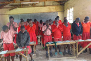 The Water Project: Mukambi Baptist Primary School -  Students Participate In The Training