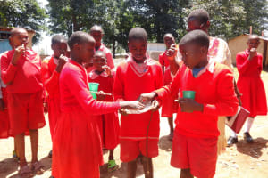 The Water Project: Mukambi Baptist Primary School -  Training Activity