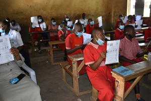 The Water Project: Mukambi Baptist Primary School -  Use Of Charts At The Training