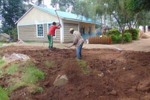 The Water Project: Kapsogoro Primary School -  Excavation