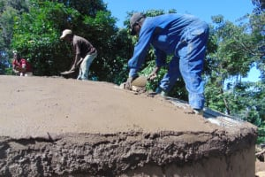 The Water Project: Kapsogoro Primary School -  Dome Setting