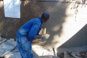 The Water Project: Kapsogoro Primary School -  Rough Cast