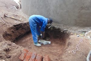 The Water Project: Kapsogoro Primary School -  Drawing Point Construction