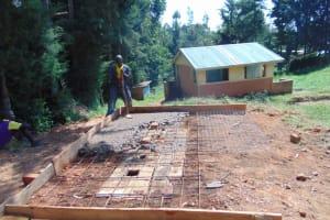 The Water Project: Kapsogoro Primary School -  Latrine Slabbing