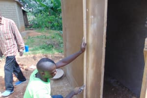 The Water Project: Kapsogoro Primary School -  Marking For Rough Casting