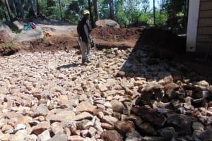 The Water Project: Kapsogoro Primary School -  Large Stones