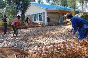The Water Project: Kapsogoro Primary School -  Wire Reinforcement