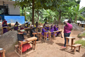 The Water Project: Kapsogoro Primary School -  Sneezing Into The Elbow