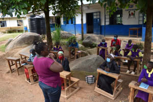 The Water Project: Kapsogoro Primary School -  Training In Session