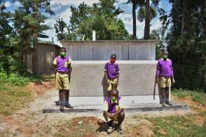 The Water Project: Kapsogoro Primary School -  Boys Vip Latrine