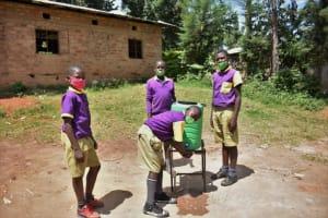 The Water Project: Kapsogoro Primary School -  Boys Handwashing