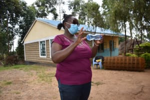 The Water Project: Kapsogoro Primary School -  Demonstration Of Solar Water Treatment