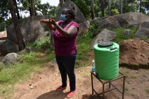 The Water Project: Kapsogoro Primary School -  Demonstration On Handwashing