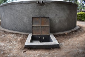 The Water Project: Kapsogoro Primary School -  Free Flowing Water