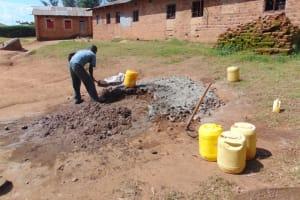 The Water Project: Kapsogoro Primary School -  Mixing Ratios