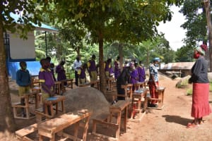 The Water Project: Kapsogoro Primary School -  Opening Prayer