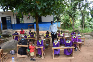 The Water Project: Kapsogoro Primary School -  Thanks From Teachers And Parents
