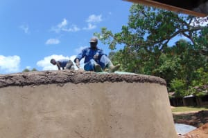 The Water Project: Jivuye Primary School -  Dome Setting