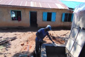 The Water Project: Jivuye Primary School -  Drawing Point Construction