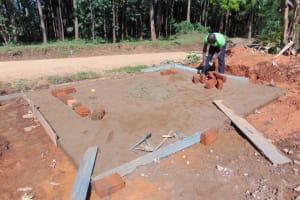 The Water Project: Jivuye Primary School -  Brick Setting
