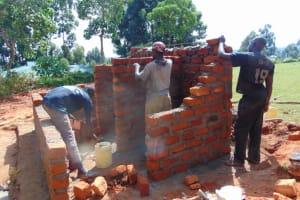 The Water Project: Jivuye Primary School -  Brick Work