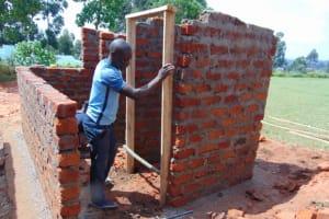 The Water Project: Jivuye Primary School -  Fixing The Door Frames