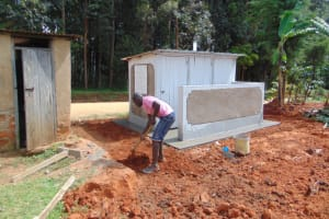 The Water Project: Jivuye Primary School -  Clearance Of Site
