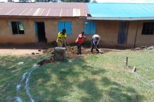 The Water Project: Jivuye Primary School -  Excavation