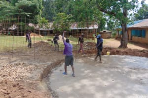 The Water Project: Jivuye Primary School -  Wire Wall Frame