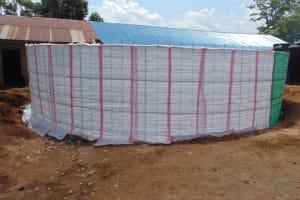 The Water Project: Jivuye Primary School -  Sack Placing