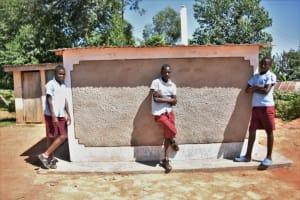 The Water Project: Jivuye Primary School -  Boys Vip Latrine