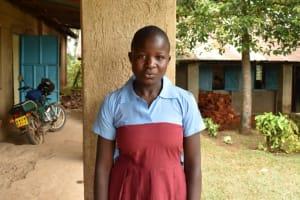 The Water Project: Jivuye Primary School -  Celestine Committee Deputy Chair