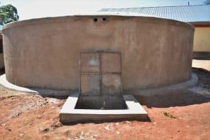 The Water Project: Jivuye Primary School -  Complete Tank