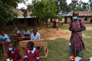 The Water Project: Jivuye Primary School -  Giving Thanks