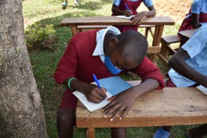 The Water Project: Jivuye Primary School -  Participants Taking Notes