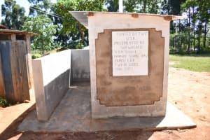 The Water Project: Jivuye Primary School -  Vip Latrines