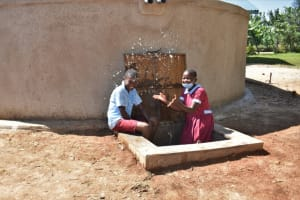 The Water Project: Jivuye Primary School -  Children Playing With Water