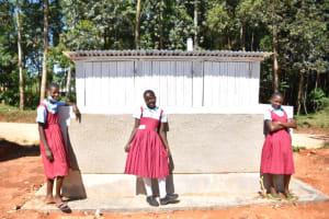 The Water Project: Jivuye Primary School -  Girls Vip Latrine