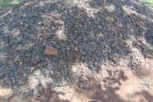 The Water Project: Jivuye Primary School -  Gravel