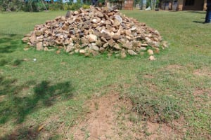 The Water Project: Jivuye Primary School -  Large Stones