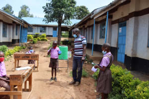 The Water Project: Bahati ADC Primary School -  Dental Hygeine Demonstration