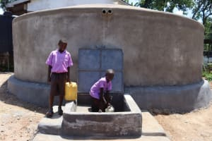 The Water Project: Bahati ADC Primary School -  Drawing Water