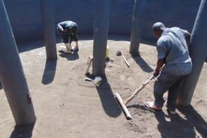 The Water Project: Bahati ADC Primary School -  Floor Plastrering