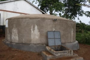 The Water Project: Bahati ADC Primary School -  Flowing Water