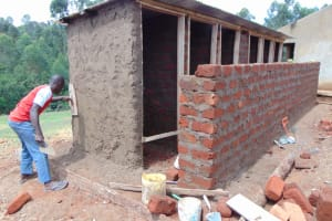 The Water Project: Bahati ADC Primary School -  Latrine Construction
